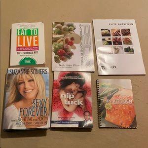 Bundle of health and wellness books